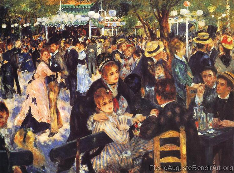 The Ball at the Moulin de la Galette