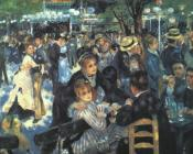 Pierre Auguste Renoir : The Ball at the Moulin de la Galette