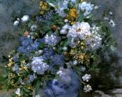 Pierre Auguste Renoir : Bouquet of Spring Flowers