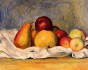 Pierre Auguste Renoir : Pears and Apples