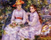 Pierre Auguste Renoir : The Daughters of Paul Durand-Ruel