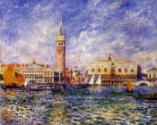 Pierre Auguste Renoir : The Doges' Palace, Venice