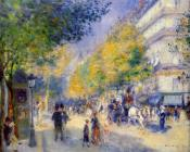 Pierre Auguste Renoir : The Great Boulevards